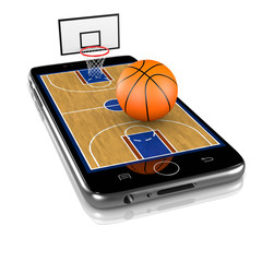 Basketball on Smartphone, Sports App