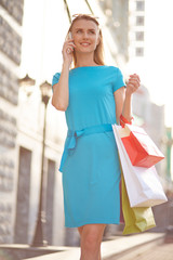 Calling after shopping