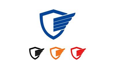 Shield Wings Logo 2
