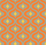 seamless geometric pattern retro