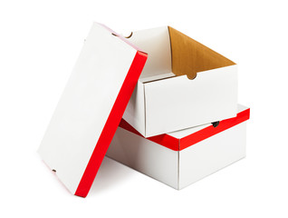 Opened boxes
