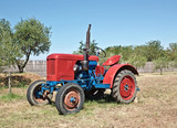 old tractor - 77978829