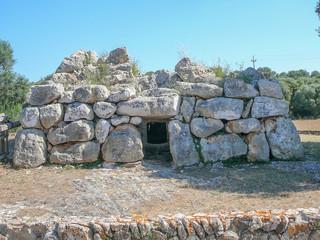 Cala Galdana ruins