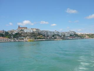 View of Mahon Minorca