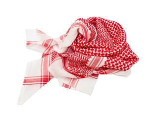 kufiya man's head scarf popular in the Arab countries