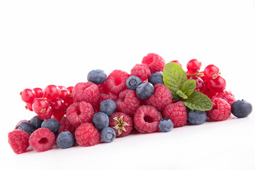 berry fruit isolated