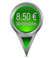 Pin Pointer mit 8,50 Euro Mindestlohn