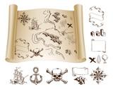 Treasure map kit