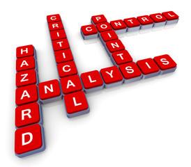 Crossword of haccp