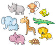 African animals - 77984838