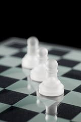 three pawns