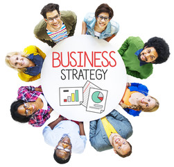 Business Plan Strategy Cooperate Planning Concept
