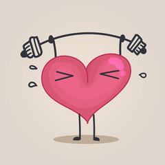 fitness heart