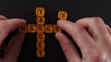 Letter Blocks Spelling Target Market