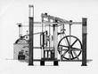 Leinwanddruck Bild - Watt steam engine, 1784