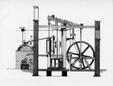 Watt steam engine, 1784