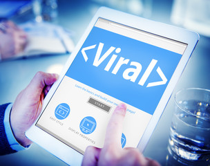 Viral Virus Internet Online Risk Concept