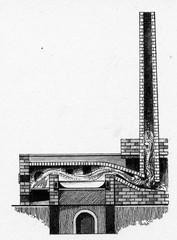 Henry Cort's puddling furnace, 1766