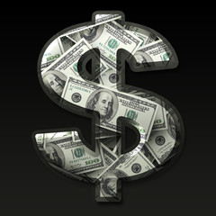 US dollar sign.