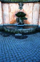Frascati (Roma) Le fontane di Villa Torlonia