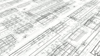 29.97fps-Construction Drawings-Perspective-White