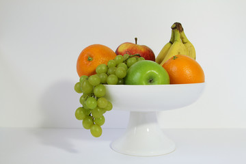 fruitschaal met fruit