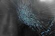 Broken glass background - 77993854