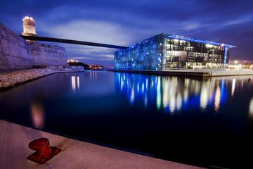 Mucem, Marseille, France.