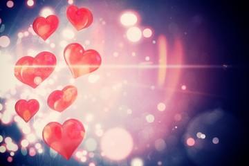 Valentines heart design