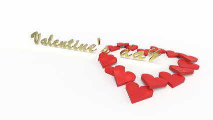 Valentine's Day text pierces the heart of hearts