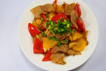豚とカシューナッツの炒め物