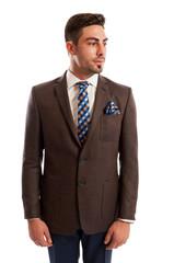 Fashionable sales man