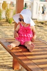 cute summer baby