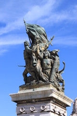 Victory Statue in Rome, Italy