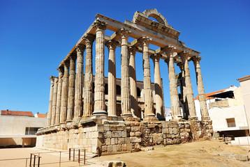 Templo de Diana, Mérida, Extremadura, España