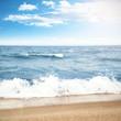 canvas print picture - sea