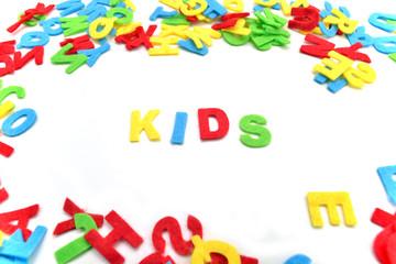 Kids Kinder Buchstaben