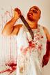 Crazy psycho butcher