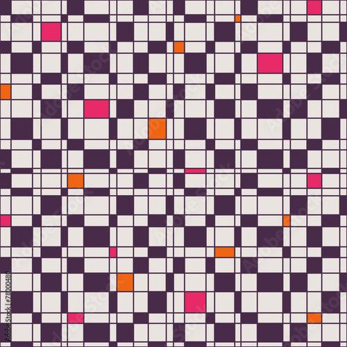 Aluminium Kunstmatig seamless geometric pattern