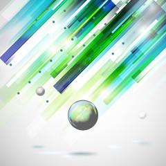 Abstract technology  geometric rain illustration