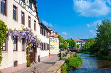 Altstadt mit Fluss Alb, Ettlingen