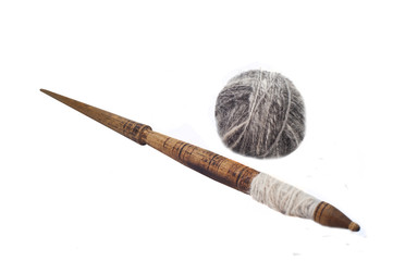 Slavic traditional spindle