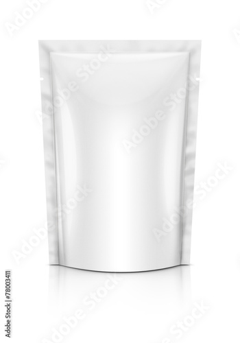 Blank packaging isolated on white background - 78003411