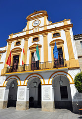 City Hall, Merida, Extremadura, España