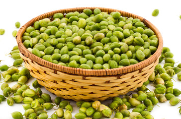 Green Chickpeas Pods