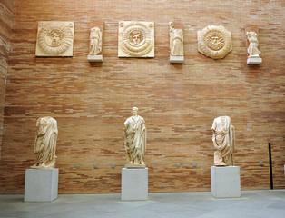 Esculturas romanas, Mérida, Extremadura, España