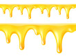 Honey drips. Seamless vector