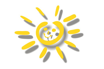 Sonnenschein, Sonne - Silhouette