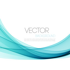 Abstract smoky waves  background. Template brochure design