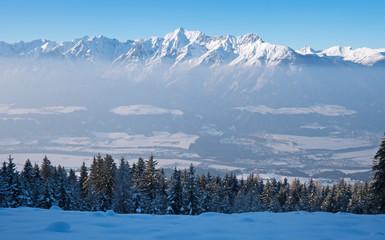 Alpenpanorama mit Karwendel